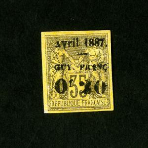 French Guiana Stamps # 6 Superb Unused Catalog Value $375.00