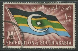 STAMP STATION PERTH South Arabia #13 Definitive Issue 1965 Used  CV$0.25