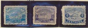 Honduras Stamps Scott #176 To 178, Used, 176 Used, 177-8 Unused No Gum
