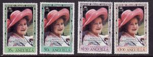 Anguilla-SC#394-7-unused NH set-Queen Mother 80th Birthday-1