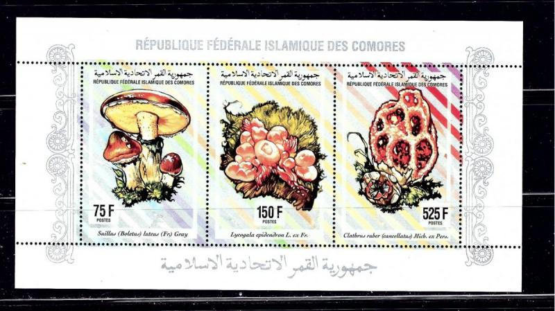 Comoro Is 811L NH 1994 sheet of 3