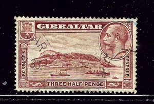 Gibraltar 97 Used 1931 issue
