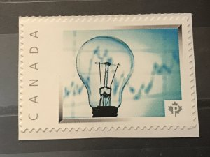 Canada Post Picture Postage Mint NH *Electricity Light Bulb* *P* denomination