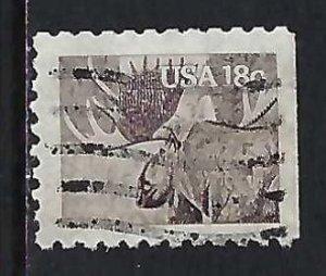 UNITED STATES 1887 VFU FAUNA H169-8
