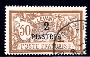 French Offices in Turkey #35, used, Beirut cancel