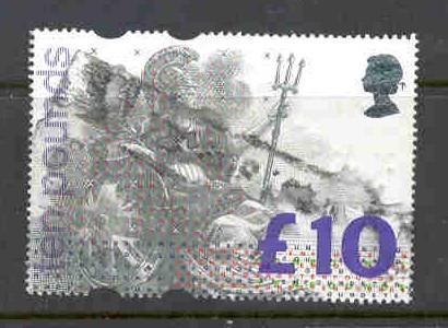 Great Britain Sc 1478  L10 Britannia stamp used