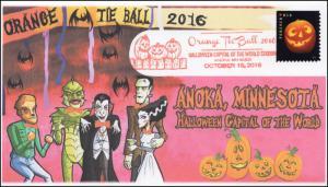 2016,  Halloween, Orange Tie Ball, Anoka MN, Pictorial, Jack O Lanterns, 16-278