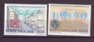 J15859 JLstamps 1987 vatican city set mnh #793-4 museum