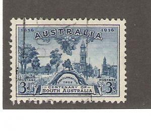 Australia Scott #160 VF Used Adelaide lt cancel  2015 CV $3.75