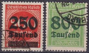 Germany #260-1 F-VF Used CV $23.25