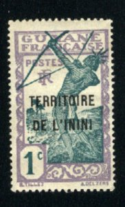 Inini #1    -2   Mint NH VF 1932-40  PD