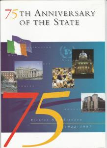Ireland 75th ANNIVERSARY of The STATE (1997) FDC Sheet pack