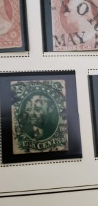 US 16 Used rare stamp