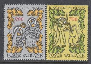 Vatican City 705-706 MNH VF