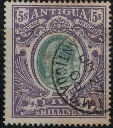 Antigua 1903 SC 30 Used SCV $160.00