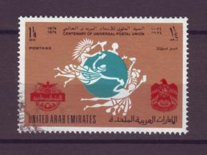 J20786 Jlstamps 1974 uae hv of set used #35 upu
