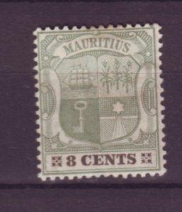 J21953 Jlstamps 1895-1904 mauritius mh #105 coat arms