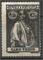 CAPE VERDE, 1914, MH 1/2r, Ceres Scott 145