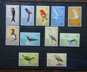 British Indian Ocean Territory 1975 Birds to $1 MNH