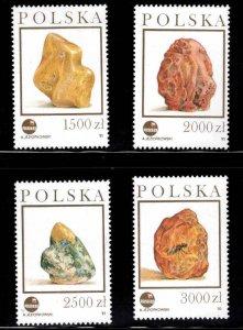 Poland Scott 3136-3169  MNH** Amber stamp set
