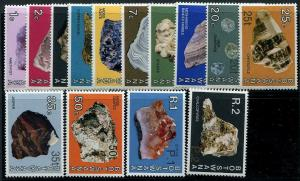HERRICKSTAMP BOTSWANA Sc.# 155-68 Minerals & Gems Stamps Cat. Value $71.00