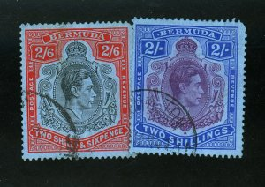 BERMUDA #123-4 USED F-VF Cat $21