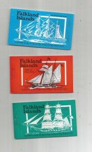 FALKLAND ISLANDS FULL BOOKLET COLLECTION, MNH, OG