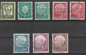 Germany Used lot of 8 #190818-11