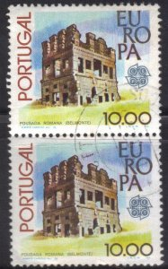 PORTUGAL SC# 1390  *USED* 10e  1978  PAIR  EUROPA    SEE SCAN