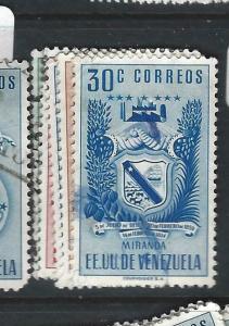 VENEZUELA  (P1303BB)  SC 506-7, 509-11    VFU