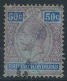 British Honduras SG 107 SC # 81 Used  see scans and details