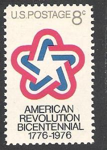 US Cat # 1432, Bicentennial Emblem, MNH*-