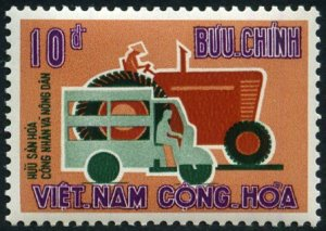 South Vietnam 1963 Tuc-tuc & Tractor MNH**