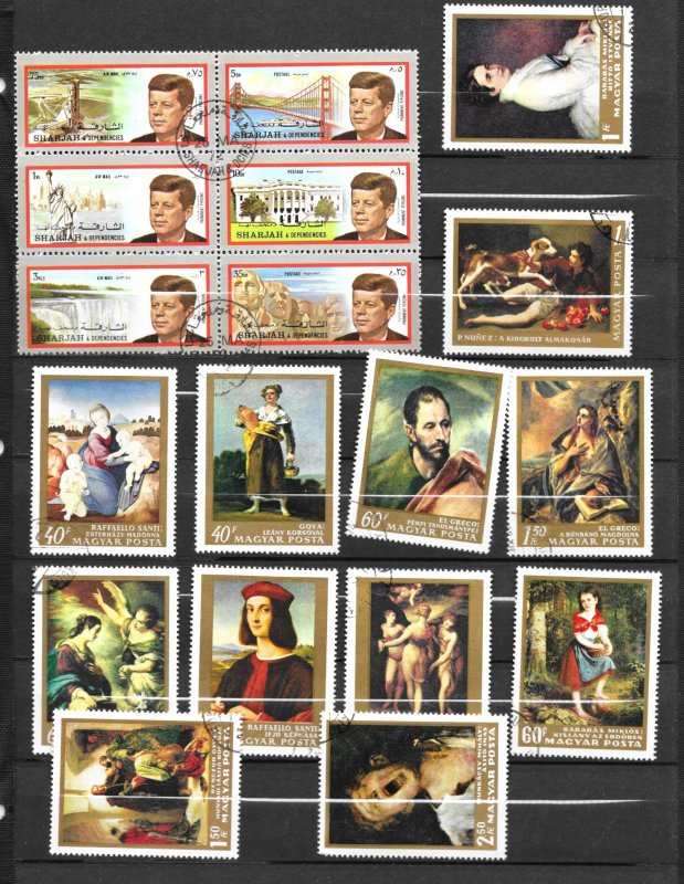Hungry Assortment, 138 stamps