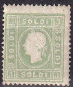 Austria Lombardy-Venetia #9 Unused CV $1325.00  (V4586)