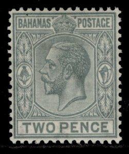 BAHAMAS GV SG118, 2d grey, M MINT.
