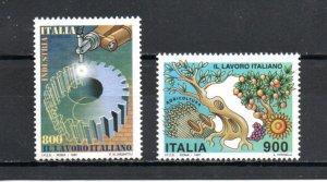 Italy 2160-2161 MNH