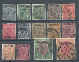 Burma 1-14 U