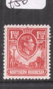 Northern Rhodesia SG 29 MOG (7dlr)