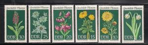 GERMANY - DDR SC# 1093-8 F-VF MNH 1969