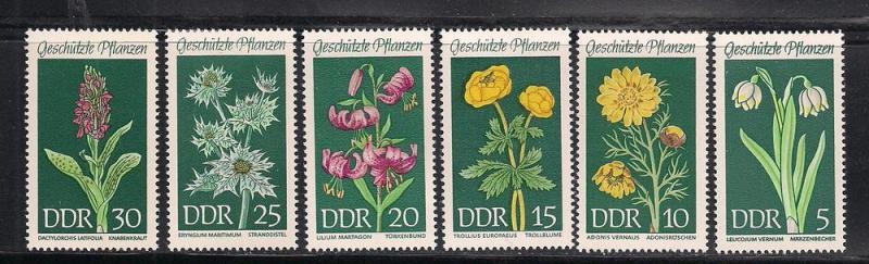 GERMANY - DDR SC# 1093-8 F-VF MNH 1969