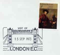 Postmark - Great Britain 1973 cover bearing illustrated c...