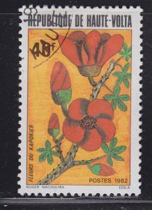 Burkina Faso 602 Flowers 1982