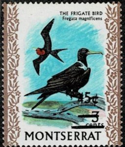 Montserrat 1970 Frigate Bird MNH