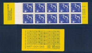 SWEDEN SC# 1376a BOOKLET - MNH