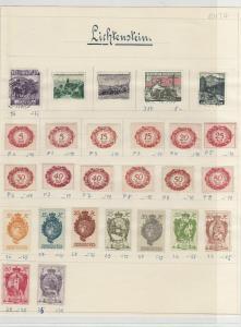 Liechtenstein Stamps Ref: R6313