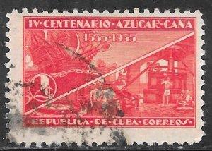 Cuba 338: 2c Sugarcane, used, F-VF