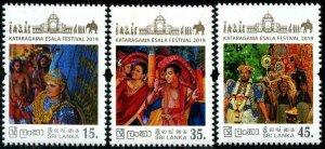 HERRICKSTAMP NEW ISSUES SRI LANKA Ruhunu Maha Festival 2019