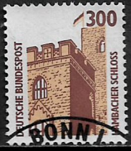 Germany #1536 Used Stamp - Hambach Castle