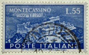AlexStamps ITALY #580 VF Used